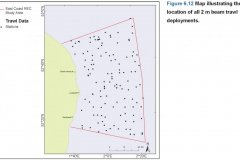 Beam trawl  sample location map