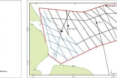 Humber REC geophysical survey lines 2008/2009