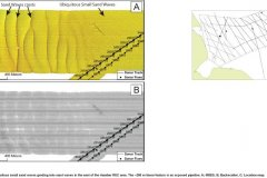 Geophysical images of sandwave crests