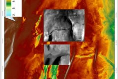 REC Bathymetry of inner gabbard deeps and Sidescan sonar data images of palaeo-rivers