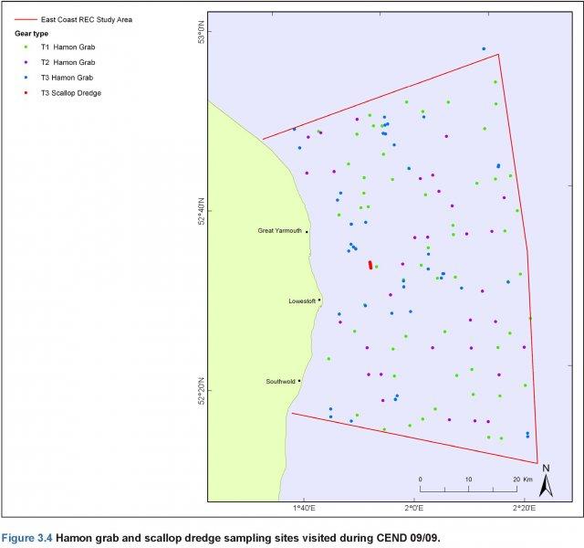 Hamon grab sample CEND 09/09 sites
