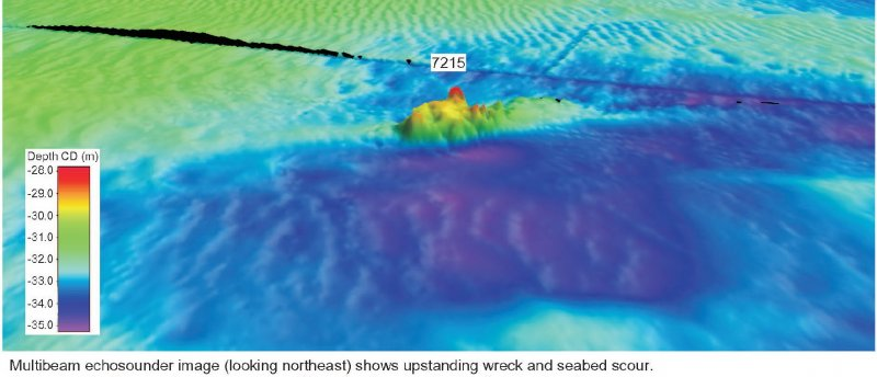 SS Seagull Bathymetry image