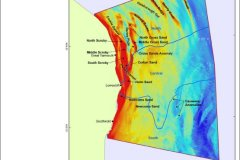Seabed morphology bathymetry