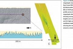Megaripple geophysical imagery