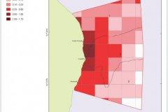 Density of UKHO wrecks