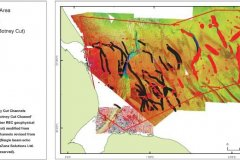 Botney Cut channel distribution map