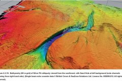 Silver Pit bathymetry data image