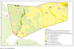 EUNIS level 4 modelled biotope map