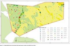Sample station EUNIS habitat classes map