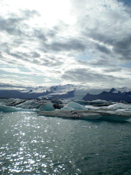 Iceland\'s glacier limits (2010)