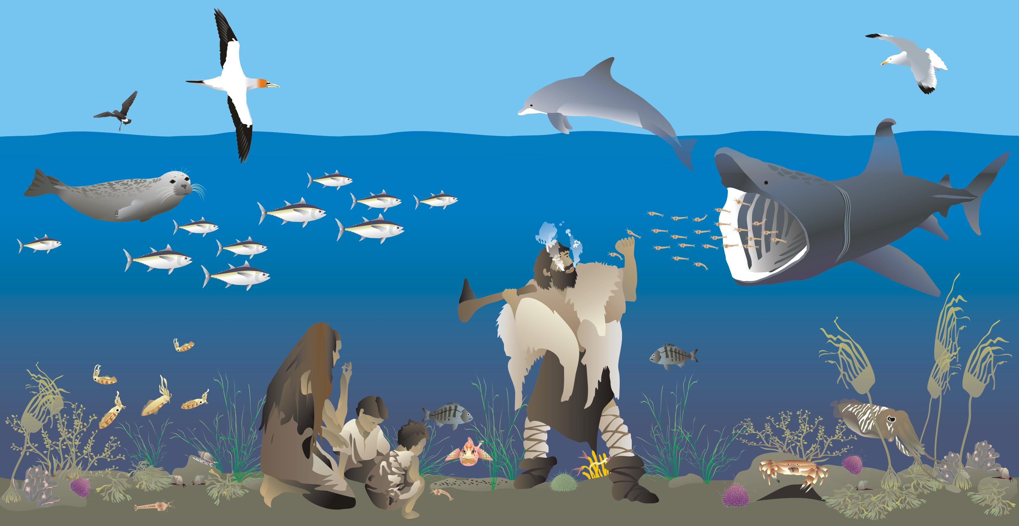 Did prehistoric people live on the seafloor?