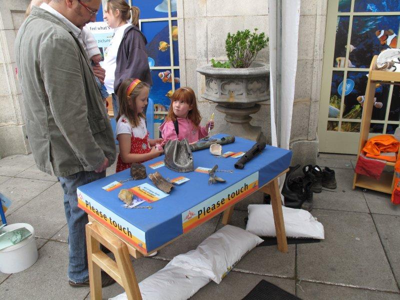Artefacts table, Brighton