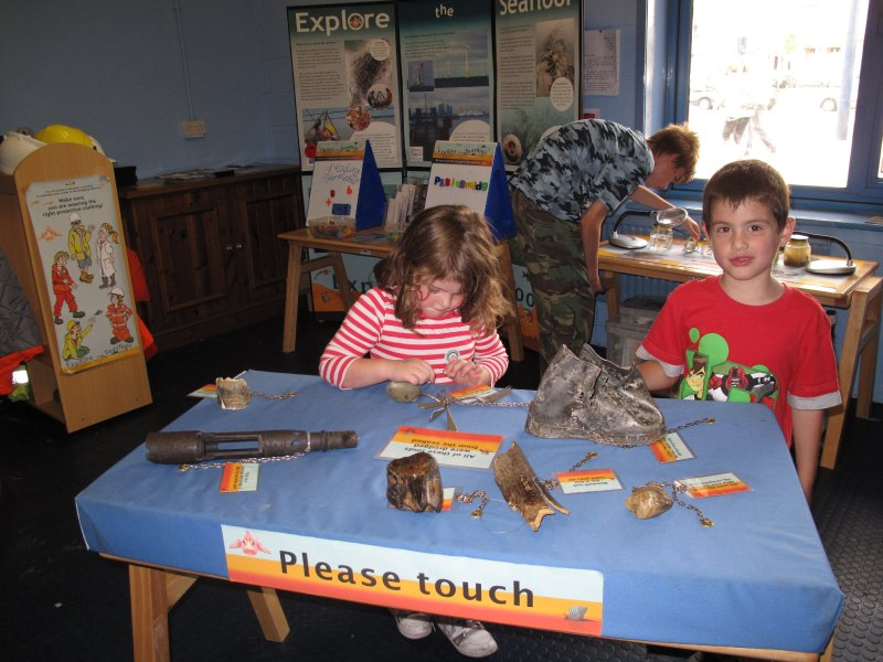 Artefact table, Great Yarmouth