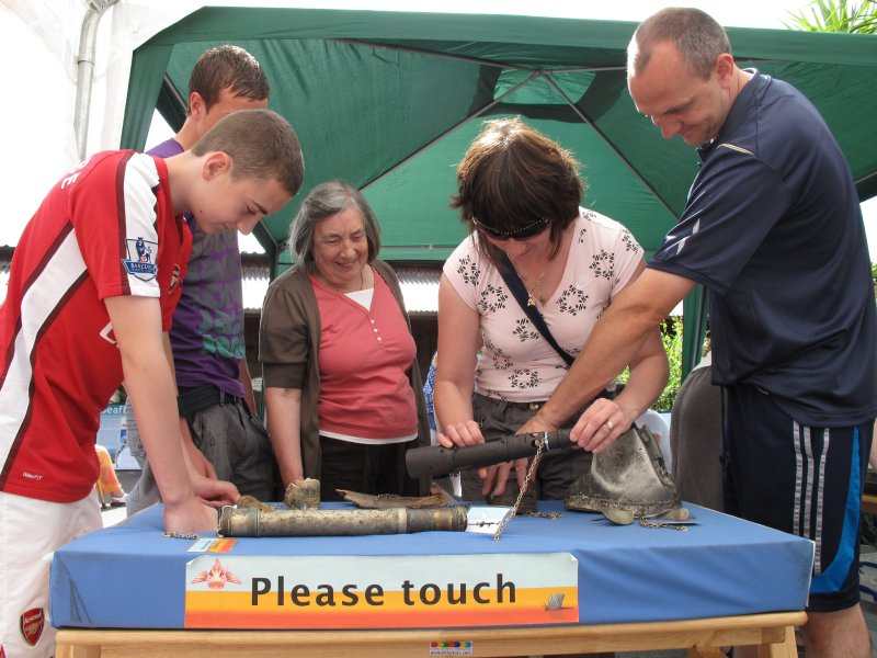 Investigating artefacts, Weymouth