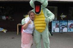 Rhonda making friends, Weymouth