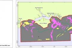 South Coast REC seafloor character map