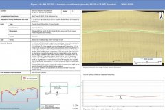 Possible aircraft wreck site identified by geophysical data