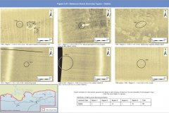 Geopysical sidescan anomalies; examples of possible pieces of debris