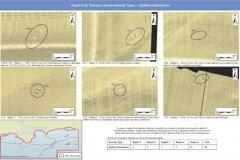 Geopysical sidescan anomalies; examples of possible seafloor disturbances