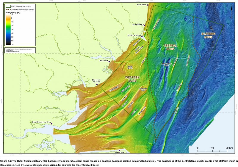 REC Bathymetry and Feature names