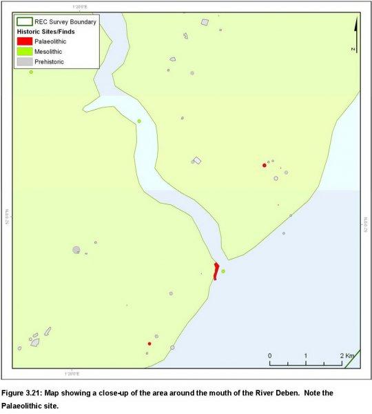 River Deben Palaeolithic site