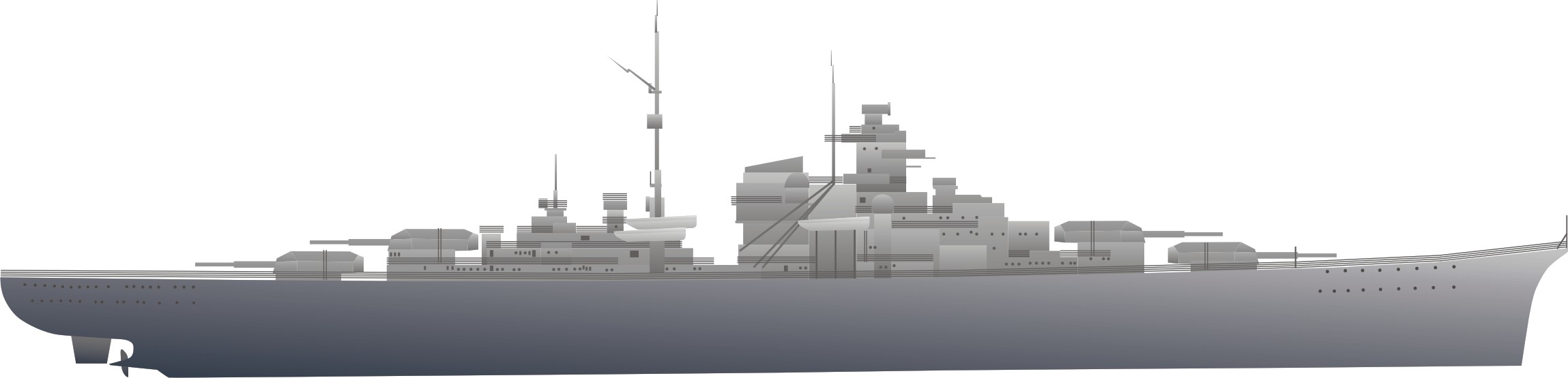 WWII ship