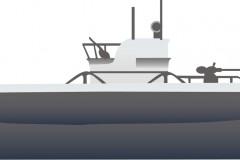 WWII submarine