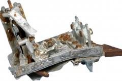 Aicraft part found at sea