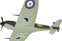 World War Two spitfire